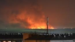 Пожар вспыхнул виркутской колонии, где осужденные напали насотрудника
