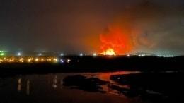 Тушение пожара вангарской колонии №15 ведется силами ФСИН