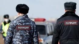 Полицейские дежурят навсех въездах вМоскву из-за коронавируса