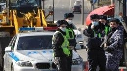 Все въезды вМоскву частично перекрыты для движения автотранспорта
