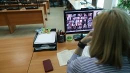 Саратовским школьникам вовремя дистанционного урока включили порно