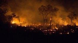 Природные пожары бушуют вЗабайкалье