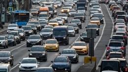 Пробки образовались навъездах вМоскву впервый день пропускного режима