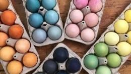 Как покрасить яйца кПасхе, неиспользуя искусственные красители