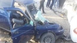 Пять человек погибли встрашном ДТП вДагестане