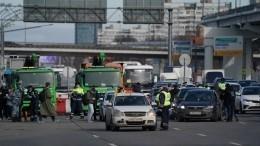 ВМоскву невпустили 12 тысяч машин