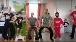ВСанкт-Петербурге ансамбль песни ипляски ЗВО представил клип «Сидим дома»