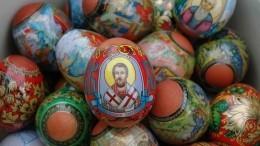 РПЦ призвала верующих молиться дома наПасху ивдругие праздники
