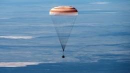 Долгий путь домой: спускаемый аппарат корабля «Союз МС-15» успешно приземлился вКазахстане
