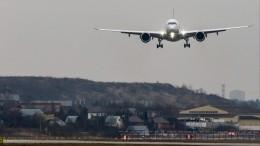 Частный самолет совершил аварийную посадку вШереметьево