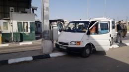Видео: вИзраиле вооруженный террорист напал наКПП