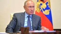 Путин обсудил ситуацию сСОVID-19 сглавами Свердловской иВоронежской областей