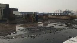 ВМЧС рассказали опожаре натерритории кадетского училища вКемерово