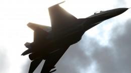 Видео: российские Су-27 отогнали бельгийский истребитель отграницы РФ