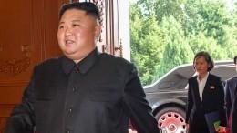 Государственное радио КНДР сообщило обактивной деятельности Ким Чен Ына