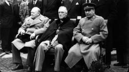 Виртуальную выставку «Сталин-Черчилль-Рузвельт: совместная борьба снацизмом» представил Росархив