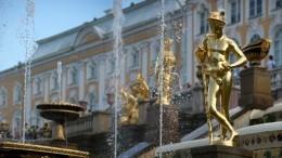 Туризм насамоизоляции: Петергоф впервые открыл сезон фонтанов без посетителей
