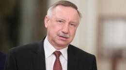 Беглов выступил собращением кжителям Санкт-Петербурга из-за коронавируса