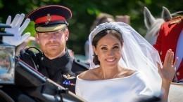 Меган Маркл ипринц Гарри сыграют новую свадьбу