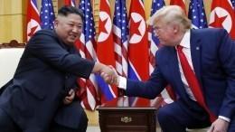 Трамп высказался осамочувствии Ким Чен Ына