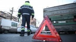 Нетрезвый водитель устроил ДТП вПетербурге ипопытался сбежать отспасателей