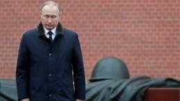 Путин вДень Победы примет участие впамятной акции «Бессмертный полк»