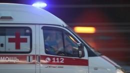 Вцентре Омска перевернулся автомобиль «скорой помощи»