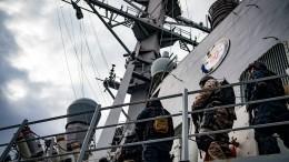 ВСША рассказали зачем американские корабли зашли вБаренцево море