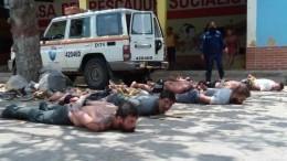 ВВенесуэле пойманы 13 наемников, которые намеревались осуществить госпереворот