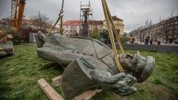 Инициатор демонтажа памятника Коневу вПраге пожаловался наРоссию