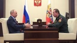 Путин поручил главе Росгвардии подать заявку назакупку спецтехники