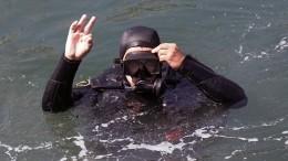 Водолазы подняли артефакты снемецкого миноносца, затонувшего в1944 году