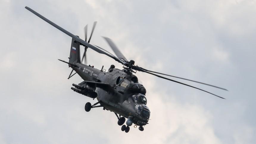 Три человека пострадали врезультате жесткой посадки военного вертолета вКрыму