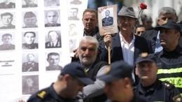 ВГрузии организаторам «Бессмертного полка» запретили использовать символику