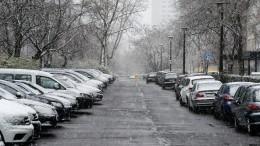 Россиян предупредили омайском снеге