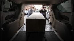 Похоронные разборки: калужские ритуальщики подрались затело умершего откоронавируса