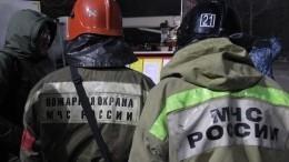 Перекрытия обрушились вжилом доме вМоскве— видео