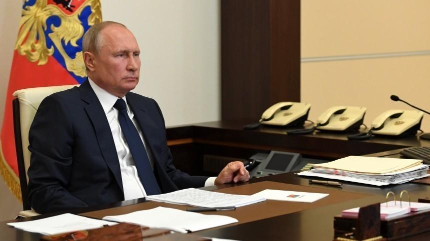 Путин раскритиковал чиновников засбои ввыплатах надетей имедикам