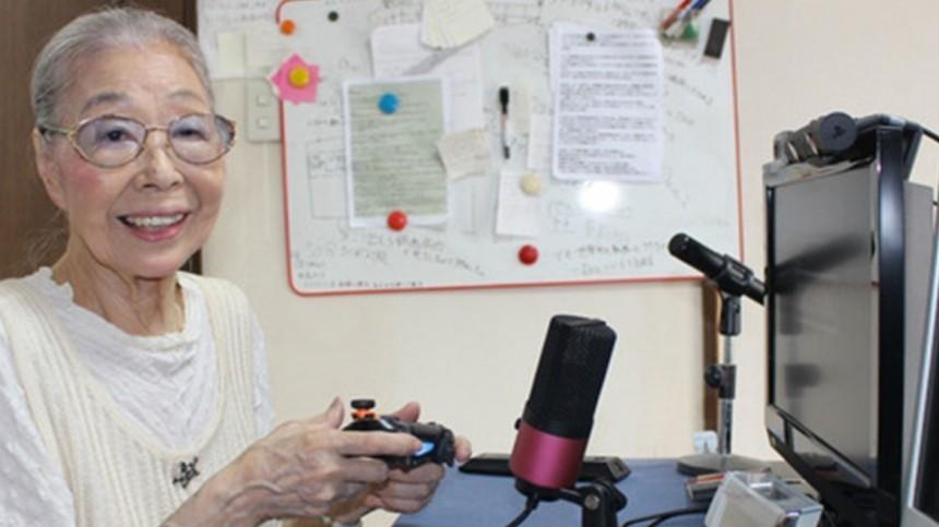Любительница шутеров иавтогонок: 90-летняя японка попала вкнигу рекордов Гиннесса
