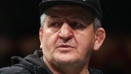 Отец Хабиба Нурмагомедова находится втяжелом состоянии