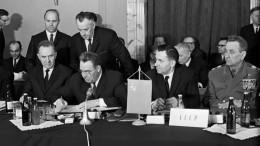 Организации Варшавского договора исполнилось 65 лет