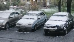 Видео: ВПетербурге всередине мая выпал мокрый снег
