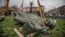 Парламент Чехии осудил снос памятника маршалу Коневу вПраге