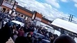Видео: сотни мигрантов устроили беспорядки вКоммунарке