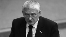 Умер инфицированный коронавирусом бывший сенатор Виктор Шудегов