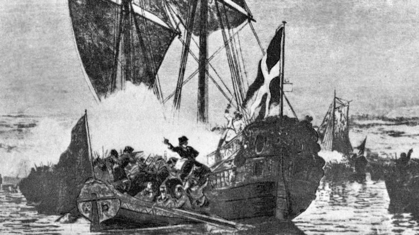 «Небываемое бывает»: счего началась история Балтийского флота?