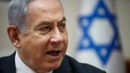 Путин поздравил Нетаньяху свступлением вдолжность премьера Израиля