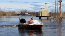 Паводки угрожают жителям сразу нескольких российских регионов