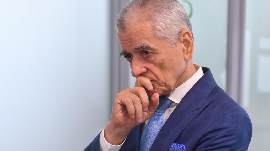 Онищенко считает, что кафе можно открывать уже наследующей неделе
