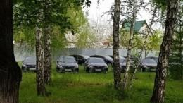 Найденным вчелябинском лесу правительственным иномаркам нашли применение